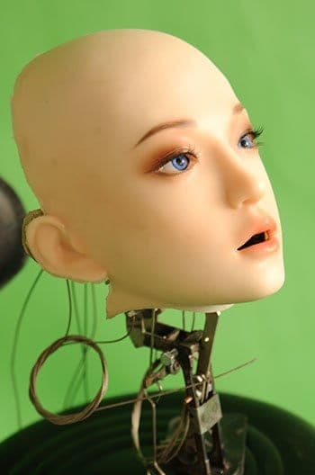 Early Version of DS Doll Robotic Head