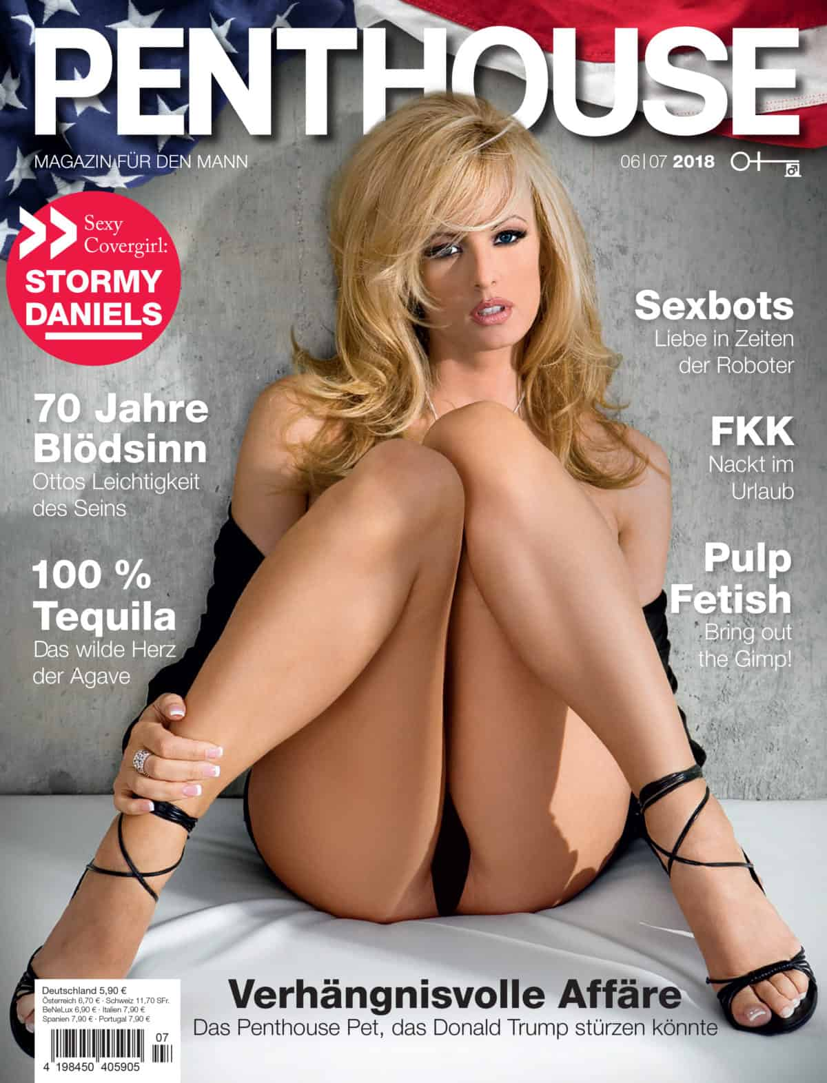 DS Doll Robotics featured in Penthouse Germany
