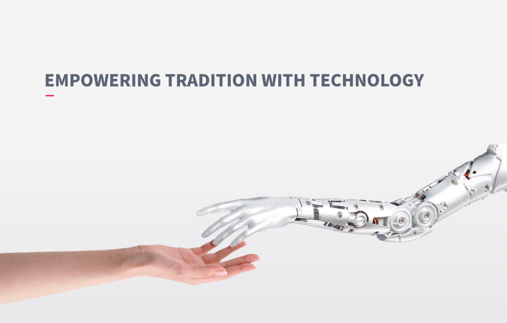 Empowering tradition with Technology