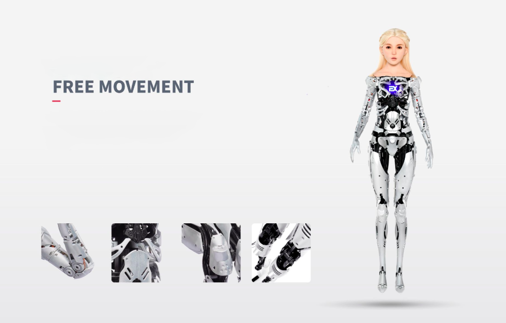 Free Movement with the fully automated Skeleton