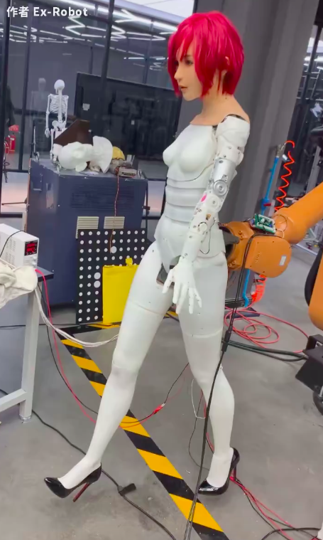 walking work in progress on the robot
